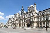 Paris: Hotel de Ville — Stock Photo