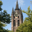 Oude Kerk Delft - Stock Photo