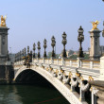 Paris. Bridge of the Concorde — Stock Photo #11756374