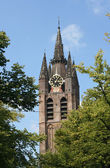 Oude Kerk Delft — Stock Photo