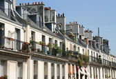 Paris Apartments — Stock Photo