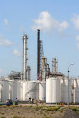Oil Refinery and Depots — Stock Photo