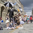 Performers at Edinburgh Festival — Stock Photo #12117520