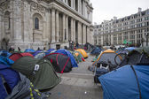 Occupy London — Stock Photo