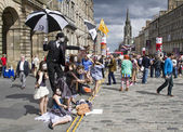 Edinburgh festival fringe — Stok fotoğraf