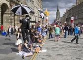 爱丁堡节日边缘 — 图库照片