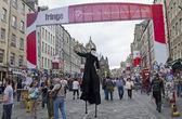 Edinburgh festival fringe — Stock fotografie
