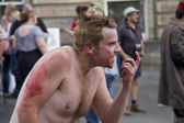 Devil at Edinburgh Festival Fringe — ストック写真