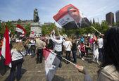 про сирии демонстрации — Стоковое фото