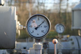 Gauges, tanks and tubes — Stock Photo
