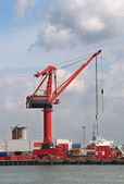 Harbor Crane — Stockfoto