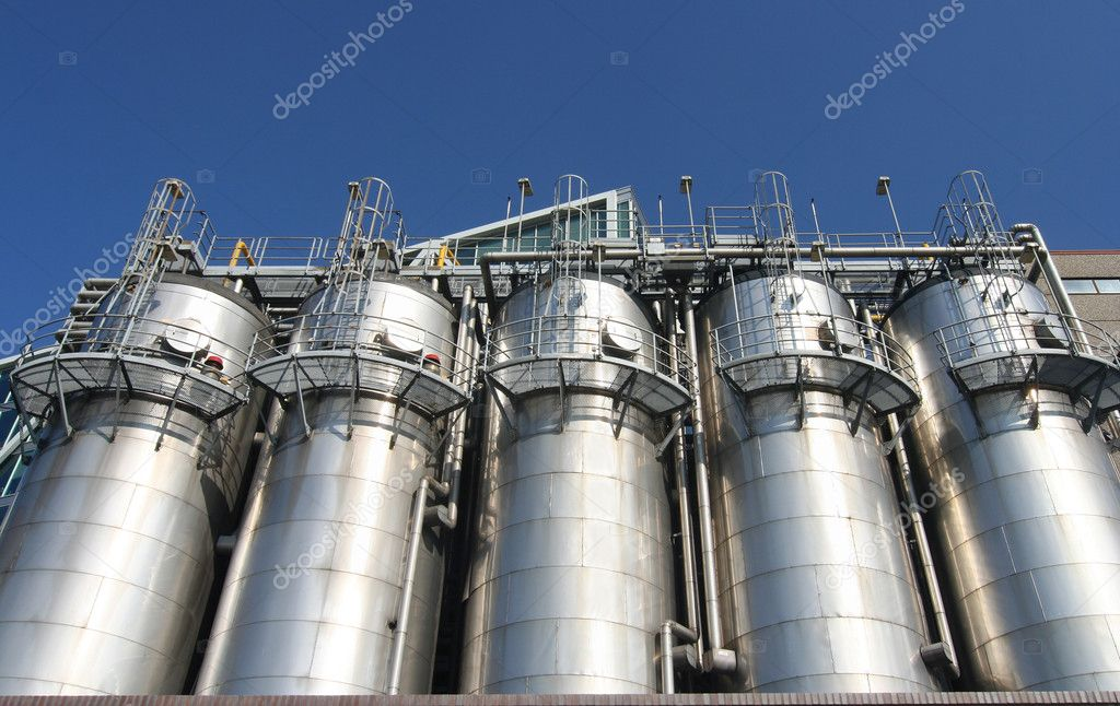 Petrochemical industry in Rotterdam — Stock Photo #12141578
