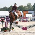 Horse Jumping — Stock Photo