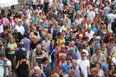 Vela amsterdam multitudes — Foto de Stock