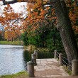 Autumn in the old park — Stock Photo #11672507