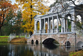 Autumn in the old park — Stock Photo