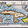 Postage stamp Cuba 1973 - Stock Photo