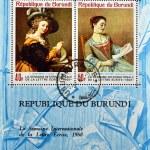 Постер, плакат: Postage stamp 1968