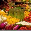 Stock Photo: Vegetable market