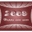 New year 2009 — Stock Vector