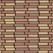 Stock Vector: Brickwall wallpaper