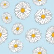 Daisy seamless - Stock Vector