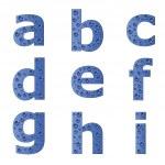 Bubble alphabet - part 1 — Stock Vector #11493225
