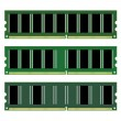 Dimm memory - Stock Vector