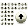 Arrow buttons -  