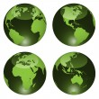 Glossy globes — Stock Vector #11493553