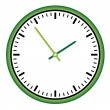 Vector de stock : Clock face - easy change time