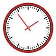 Clock face - easy change time — Stok Vektör #11493710