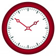 Clock face - easy change time — Vector de stock #11493720