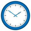 Clock face - easy change time — ストックベクタ