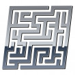3d shiny maze — Stock Vector #11494027