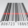 3d barcode — Stock Vector