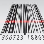 3d barcode — Stock Vector