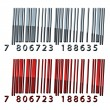 3d abstract barcodes - Stock Vector