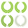 Royalty-Free Stock Vectorielle: Laurel wreaths