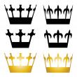 Crown symbols — Stock Vector #11494519