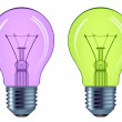 Stock Vector: bulbs