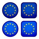 EU flags — Stock Vector