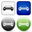 Car buttons — Stock Vector