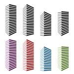 Skyscraper symbols — Stock Vector