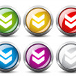 Download buttons — Stock Vector