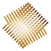 抽象的な格子パターン — ストックベクタ
