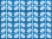 Blauwe naadloze achtergrond — Stockvector