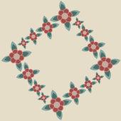 花卉图案的壁纸 — 图库矢量图片