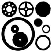 Sprockets - illustration for the web — Stock Vector