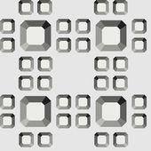 Teste padrão do diamante sem emenda — Vetorial Stock